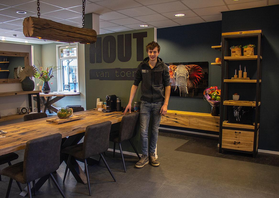 Hout Van Toen Opent Showroom In Het Centrum Van Barneveld Barneveld Magazine
